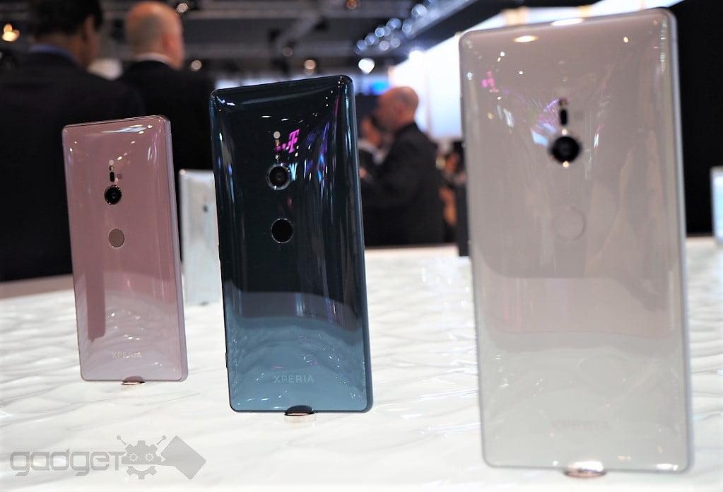 Pretul telefoanelor Xperia XZ2