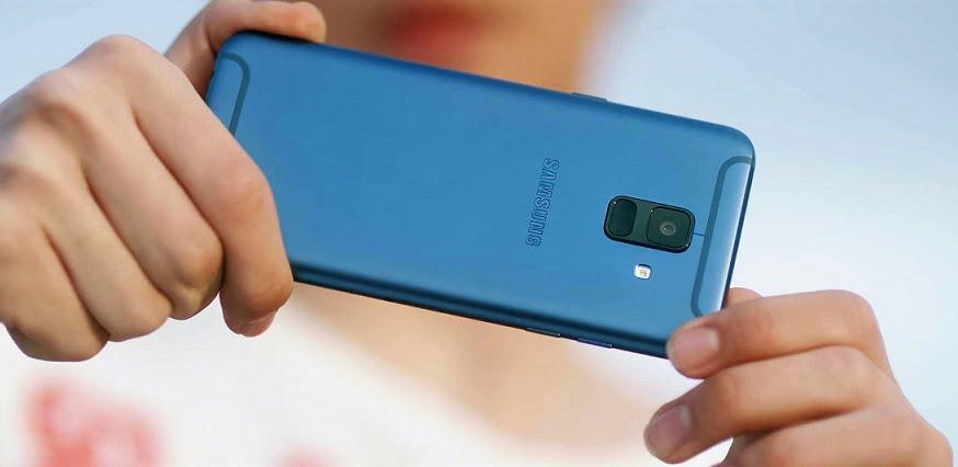 Telefonul Galaxy A6 Plus