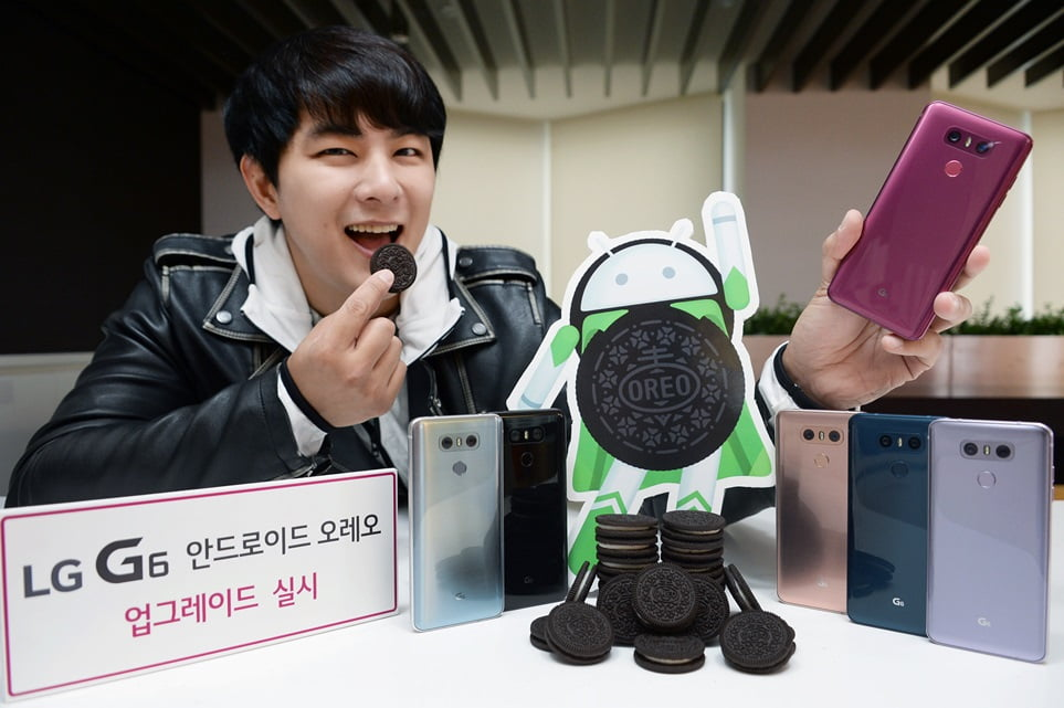 Telefoanele LG G6 primesc update Oreo