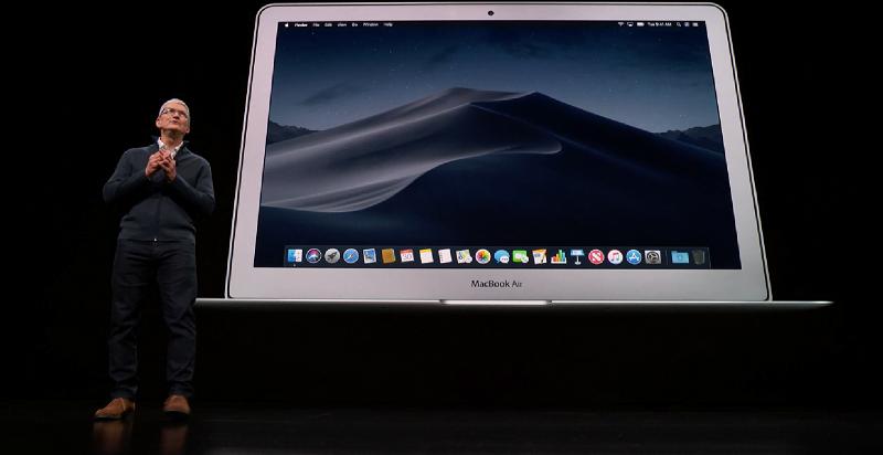 Apple anunta Macbook Air 2018