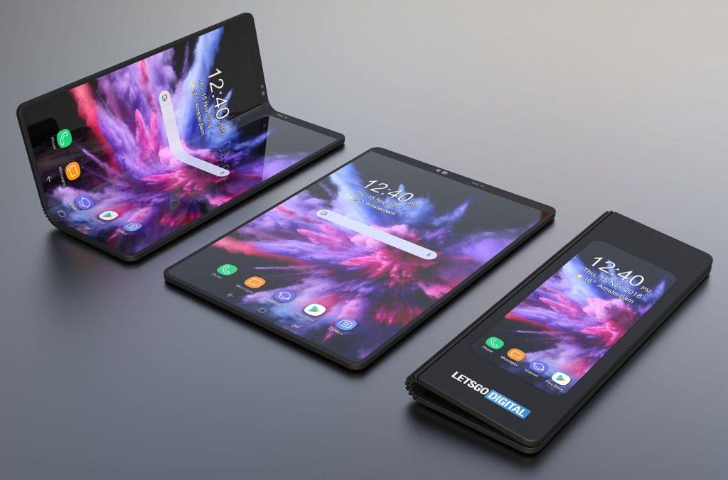 telefonul pliabil Samsung