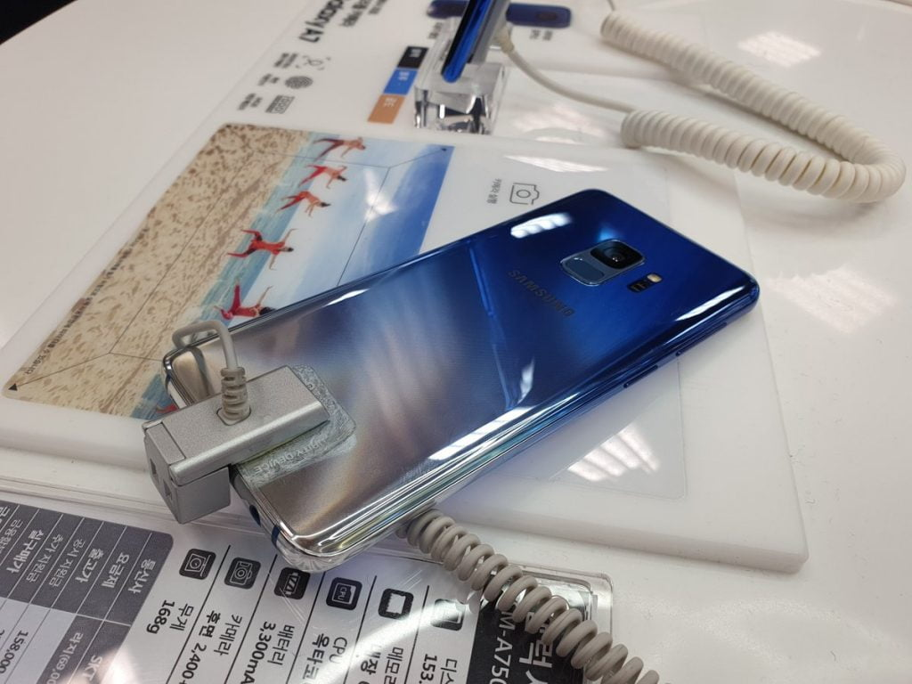 Galaxy S9 Polaris Blue