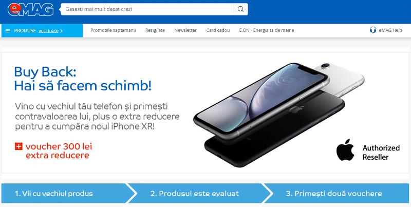 Campanie Buyback iPhone XR