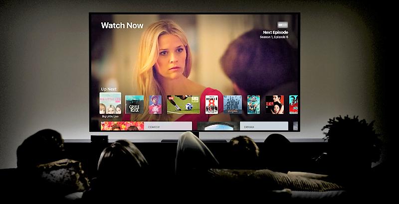 Serviciul de streaming filme Apple