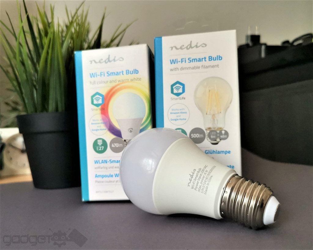 becuri LED wireless Nedis