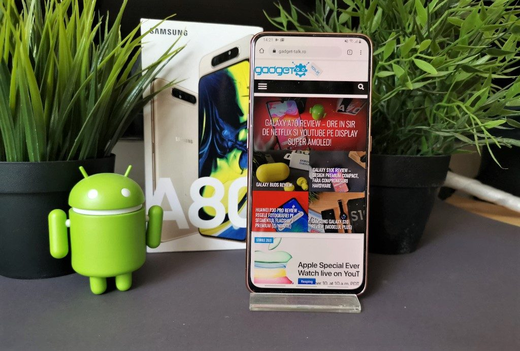 Galaxy A80 Review