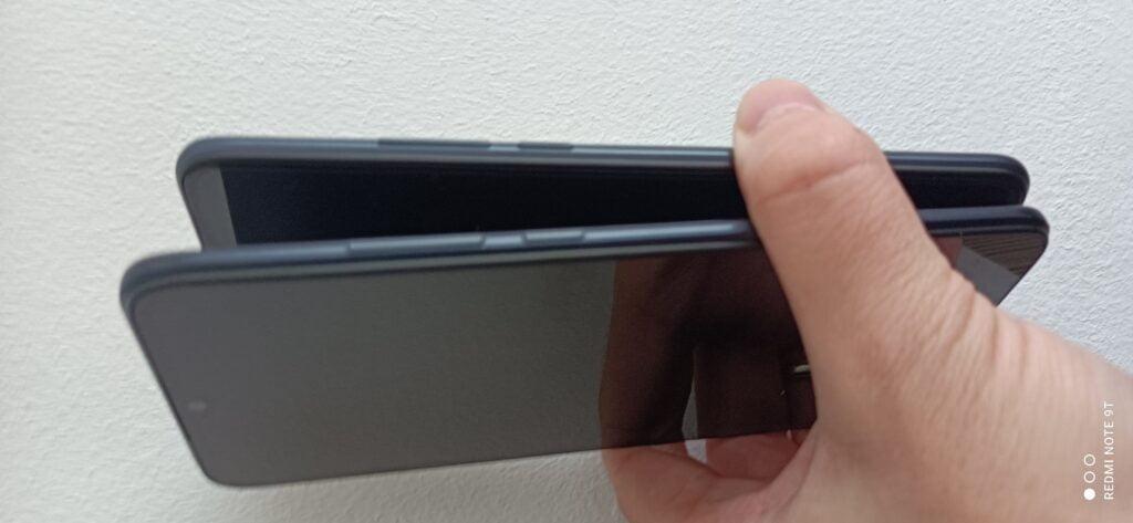 Foto cu Redmi Note 9T -camere 48MP